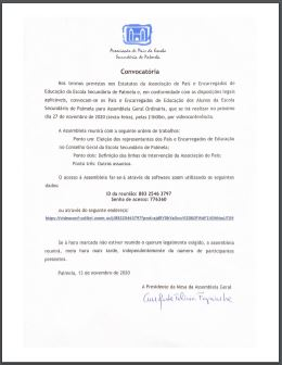 convocatoria mini